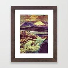 The Rising Fall Framed Art Print