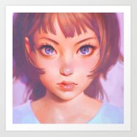 Gyoushi Art Print