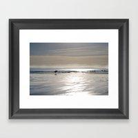 Towards The Ocean Framed Art Print