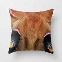 Polyphemus Giant Moth - … Throw Pillow