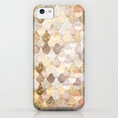 MERMAID GOLD iPhone 5c Slim Case