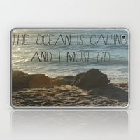 The Ocean Is Calling Laptop & iPad Skin