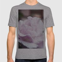 The Lilac Rose Mens Fitted Tee Athletic Grey SMALL