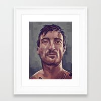District 9  Framed Art Print