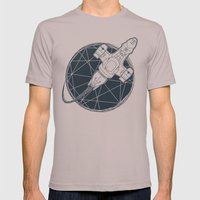 Shining star Mens Fitted Tee Cinder SMALL