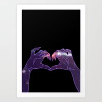 Don't Hate Me Cause You … Art Print