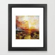 Ship Of Unbelievers Framed Art Print