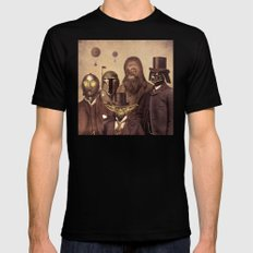 Victorian Wars  - square format SMALL Black Mens Fitted Tee