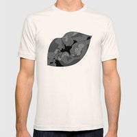 Besos Mens Fitted Tee Natural SMALL