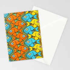 Something is Nicely Fishy Here! Stationery Cards