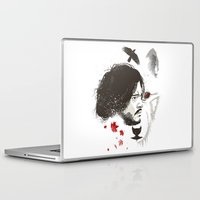 snow Laptop & iPad Skins featuring Snow by The Art of Danny Haas