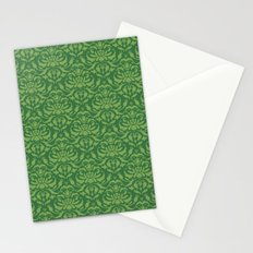 Cloud Factory Damask - Watergrass Stationery Cards