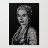 Cersei Lannister, Game O… Canvas Print