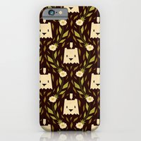 floral pattern iPhone & iPod Cases featuring floral pattern by Yetiland