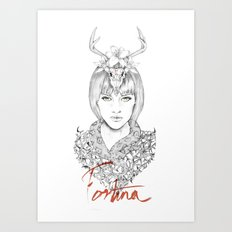 Lady Fortuna Art Print