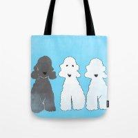 Bedlington Terrier Dogs Tote Bag
