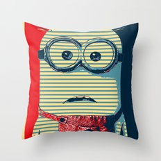 Minion banana Throw Pillow