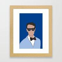Bill Nye The Science Guy Framed Art Print