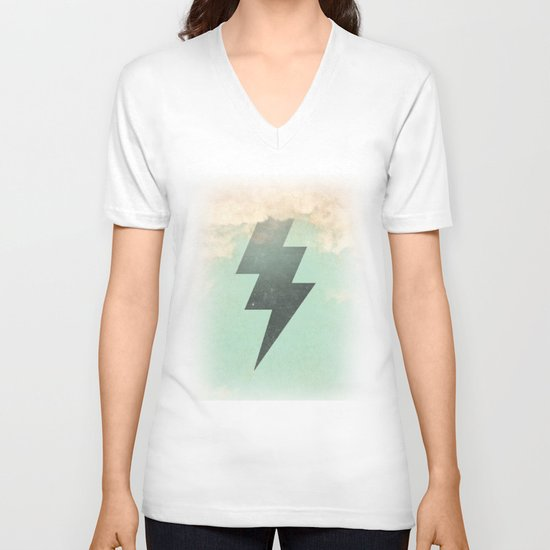 Bolt from the Blue V-neck T-shirt
