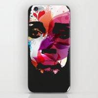 Sad Woman iPhone & iPod Skin