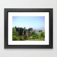 Castle Gardens Framed Art Print