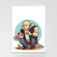 Roughneck Kirby Stationery Cards