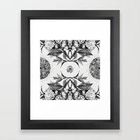 AURA Framed Art Print