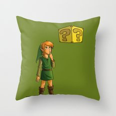 What Do I Do With This? (Part 1) Throw Pillow