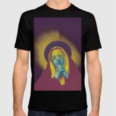 TRANSCENDENCE Mens Fitted Tee Black SMALL