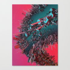 TURBO.FOLLICLE (everyday 05.12.16) Canvas Print