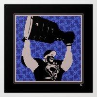 Sydney Crosby - Stanley Cup Art Print