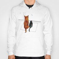 cat and dog  Hoody