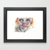 My Eyes Refuse To Accept… Framed Art Print