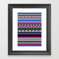 DONOMA ▲ BLUES Framed Art Print