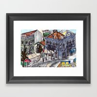 Buarcos, Portugal Framed Art Print