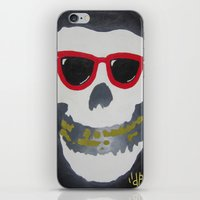 Old Dirty-Crimson Ghost-… iPhone & iPod Skin