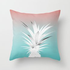 ananas comosus Throw Pillow