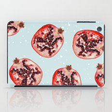 Pomegranate & Snow #soci… iPad Case