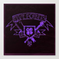 Copper: Five Points Coat of Arms Canvas Print