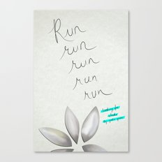 Run run run Canvas Print