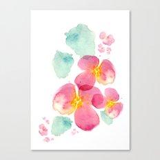 Eastern bloom Canvas Print