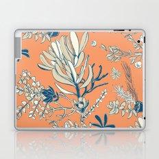 Orange Cradle Flora Laptop & iPad Skin