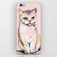 Josephine The Cat iPhone & iPod Skin