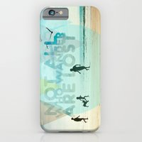 iPhone & iPod Case featuring NOT ALL WHO WANDER ARE LOST by La Nomaderie