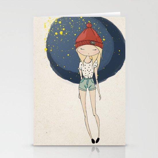 Ange - Fashion illustration Stationery Card