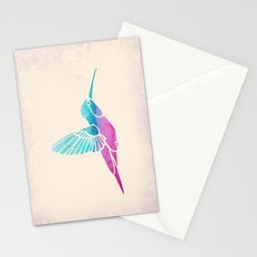 Watercolor Hummingbird Stationery Cards