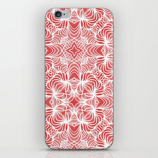 Coral Waves iPhone & iPod Skin