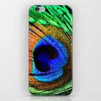 In the Peacock Mood iPhone & iPod Skin