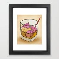 Pickle Pigs Too Framed Art Print