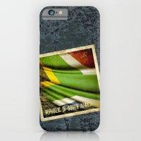 South Africa grunge sticker flag iPhone 6 Slim Case